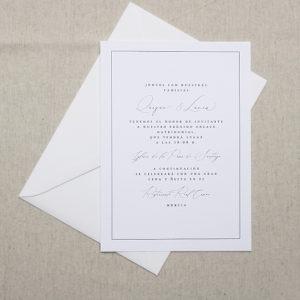 Invitaciones de boda Lázuli Creative Studio